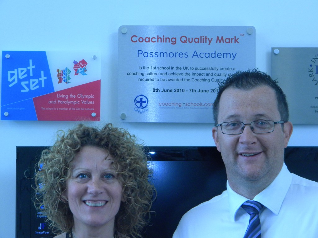 Coaching Quality Mark Coaching in Schools